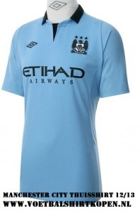 Mnachester City Home kit 12/13