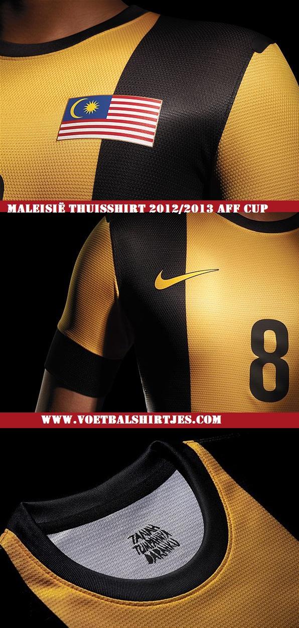 Malaysia home jersey 2013 Nike