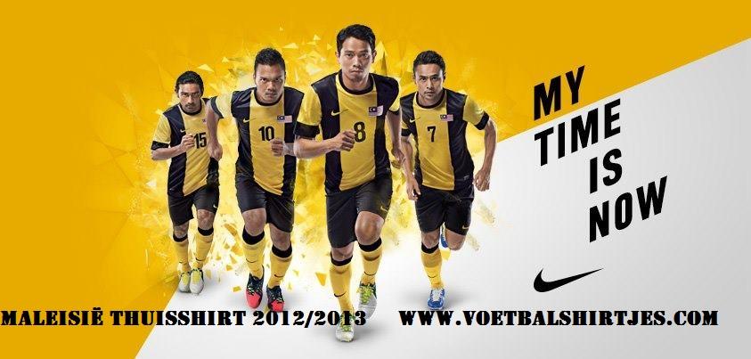 Malaysia home jersey 2013-2014 AFF Suzuki Cup