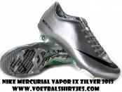 Nike Mercurial Vapor IX zilver 2013 voetbalschoenen