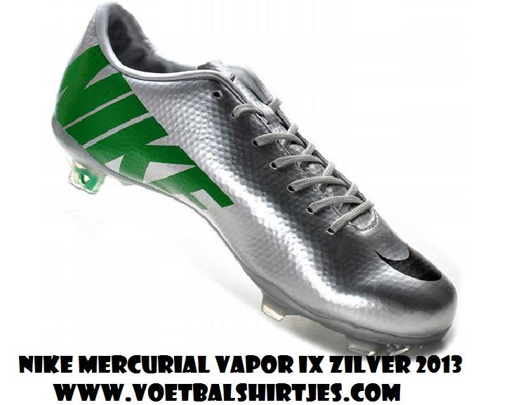 Nike Mercurial Vapor IX 2013 FG silver