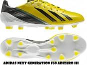 Messi voetbalschoenen Adidas geel 2013