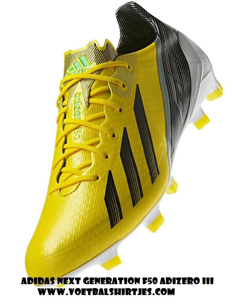 Messi voetbalschoenen geel F50 Adizero 2013