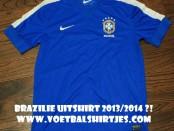 Brazil away jersey 2014