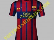 Barcelona home kit 2013/2014