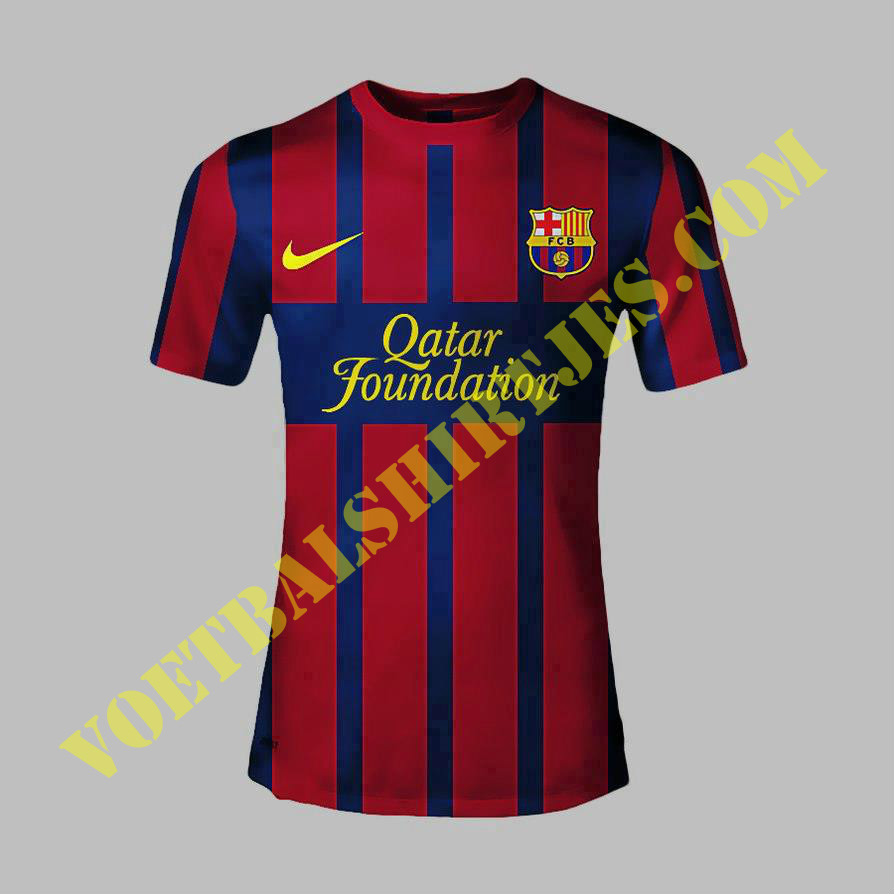Barcelona home kit 2013/2014