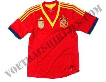 Adidas Espana camiseta copa confederaciones 2013