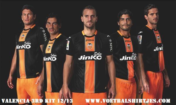 Camiseta alternativa Valencia 2013