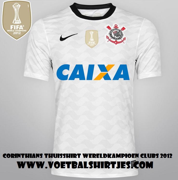Corinthians home kit 2013