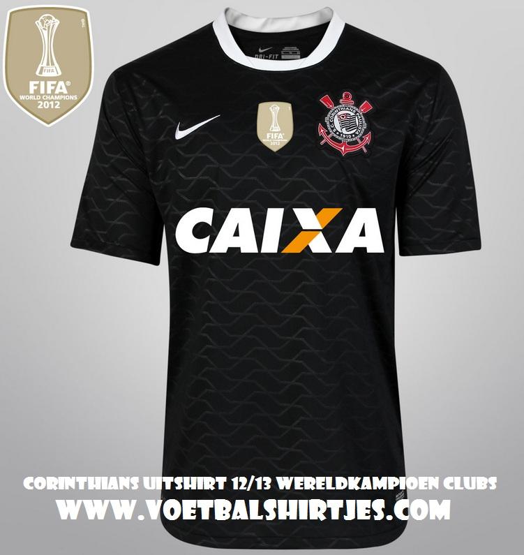 Corinthians world champion jersey 2013