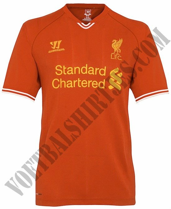 Liverpool home kit 2013-2014