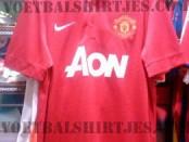 manchester United home kit 2014
