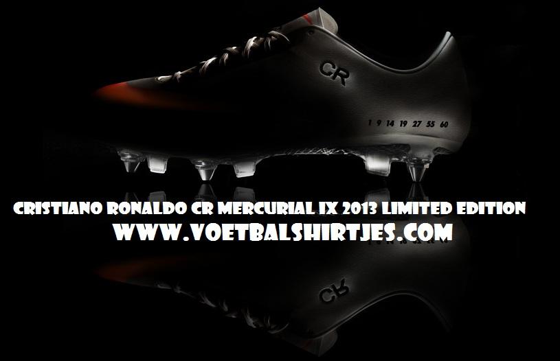 CRISTIANO RONALDO limited edition CR7 MERCURIAL IX 2013 nike