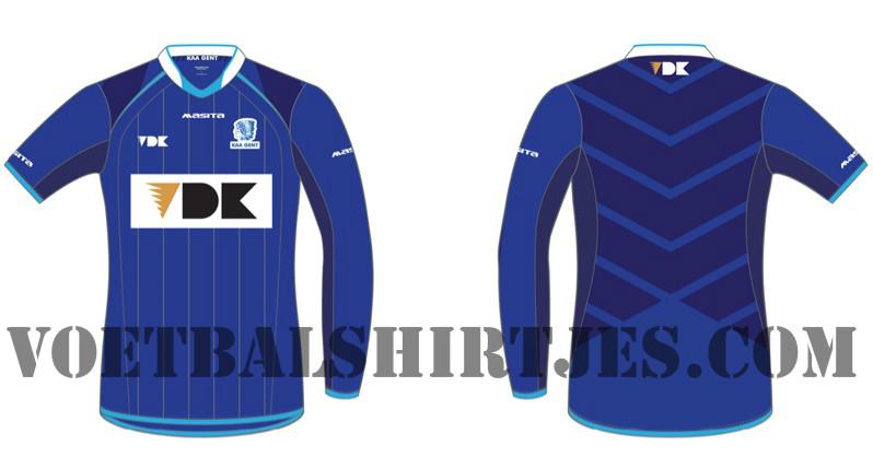 KAA Gent shirt 2013/2014