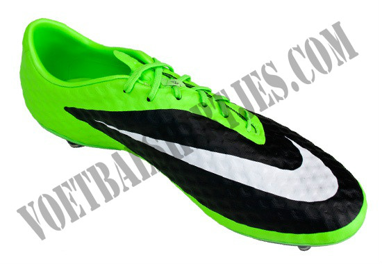 Nike Phantom black green 2013 front