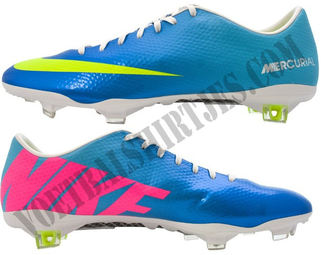 Nike Vapor 9 footy boots blue