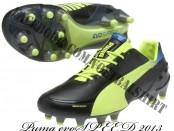 nieuwe Puma evoSPEED voetbalschoenen 2013