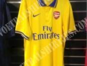 Arsenal away kit 13/14