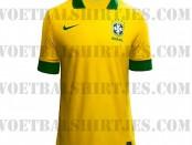 nieuwe brazilie voetbalshirt 2014