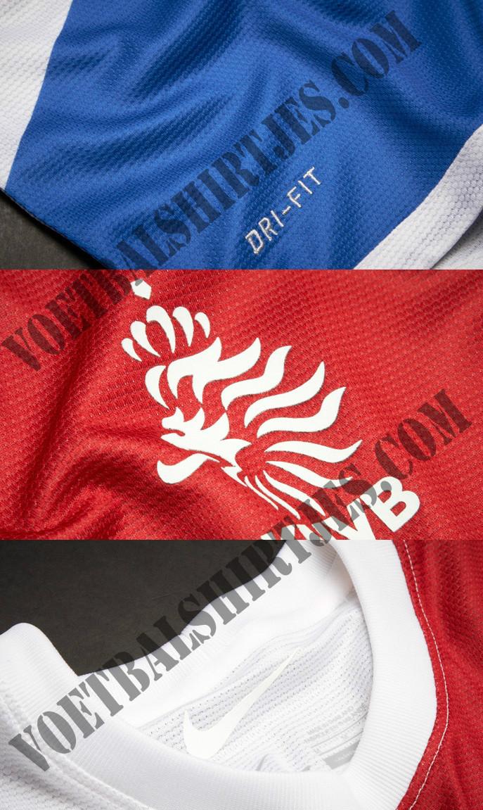 Nederlands Elftal tenue details 2014