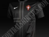 Camiseta Portugal 2013-2014 negra