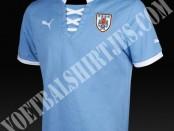 Uruguay home jersey 2014