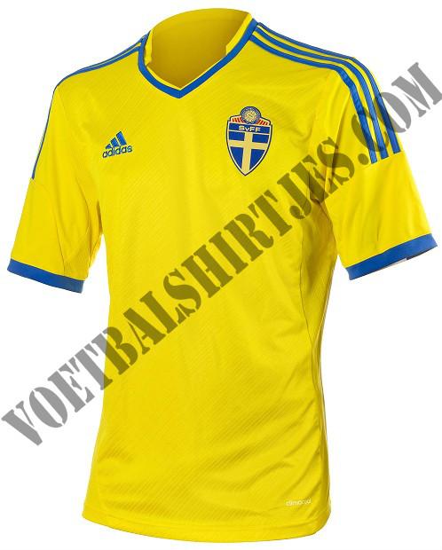 Zweden shirt 2014 Adidas
