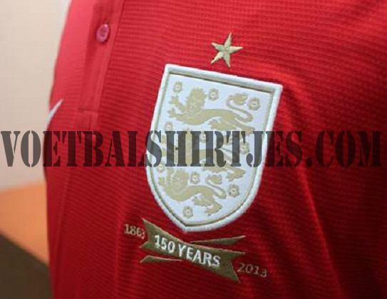 England away jersey 2014 Nike