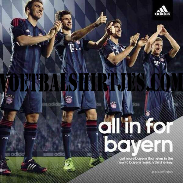 Bayern Munchen trikot 2014 Champions League