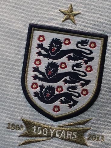 England FA logo 150 years