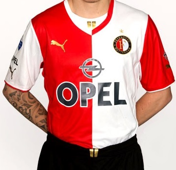 Feyenoord shirt 2013 2014