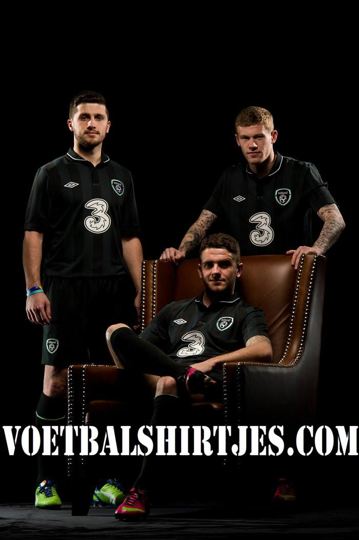 Ierland voetbalshirt 2013 2014