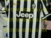 Juventus home kit 2013 2014