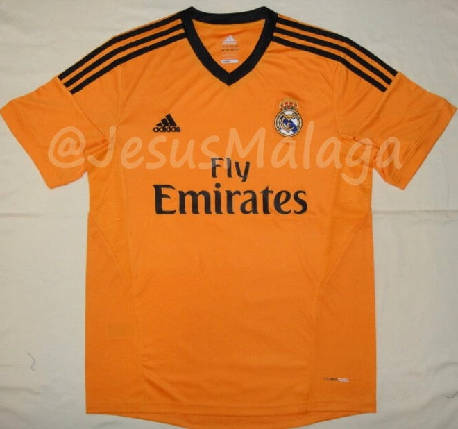 Real madrid 3rd jersey 2013 2014