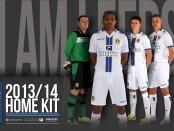 Leeds United home kit 2014