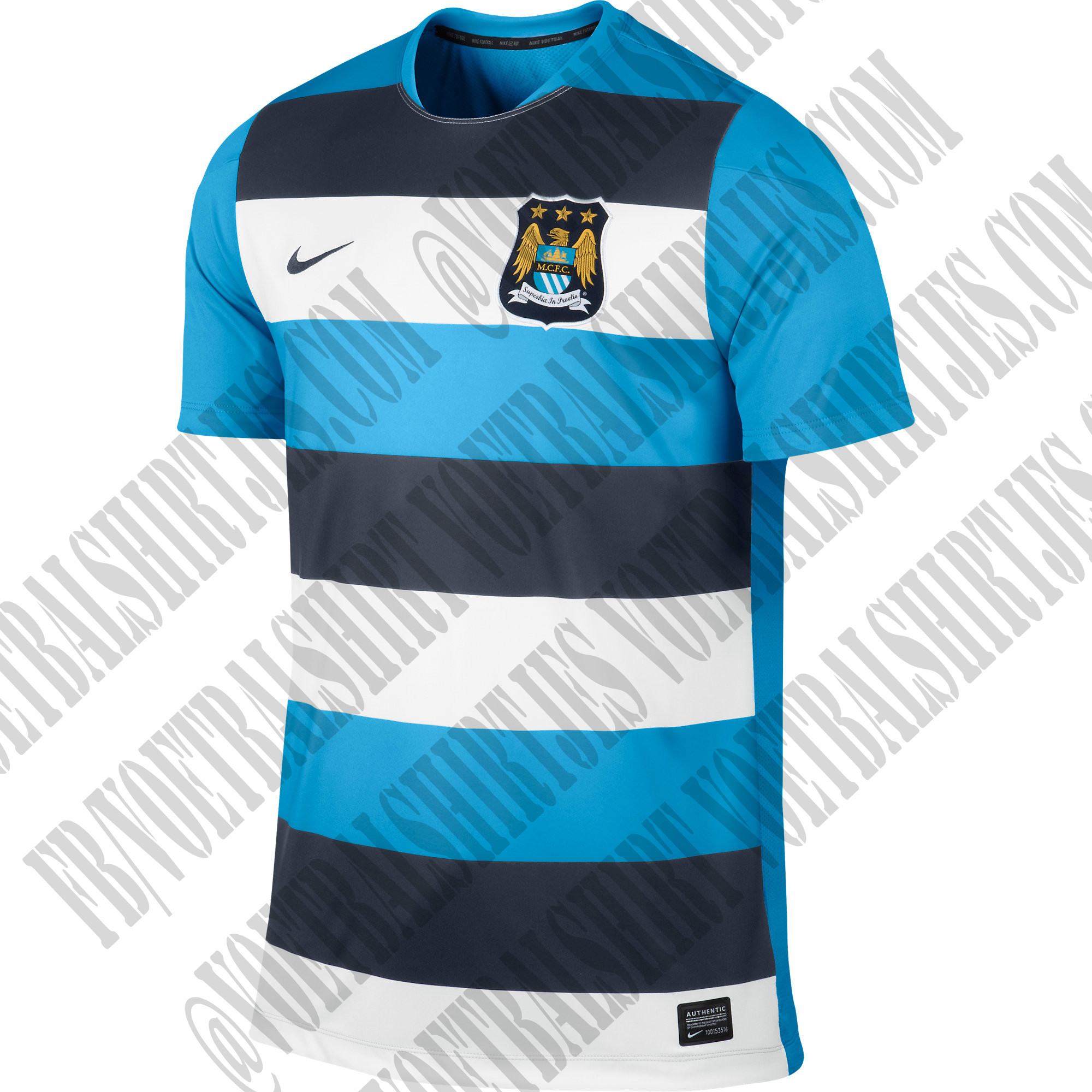 Nike Manchester City Prematch top SS