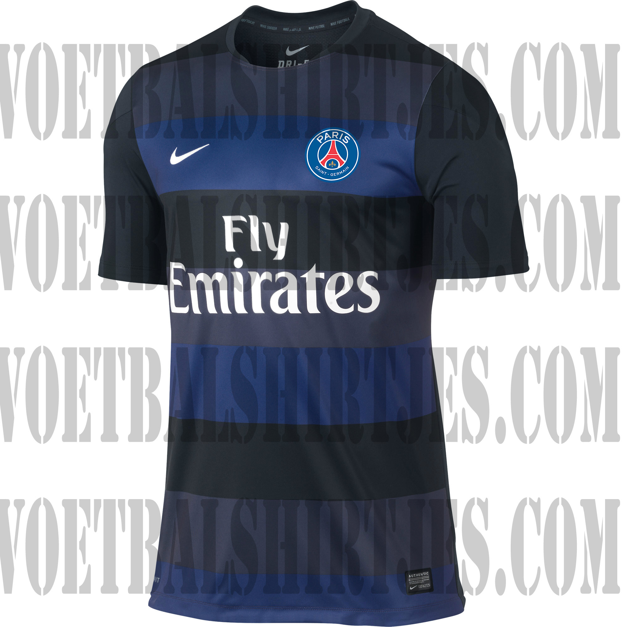 PSG trainingsshirt 2013 2014
