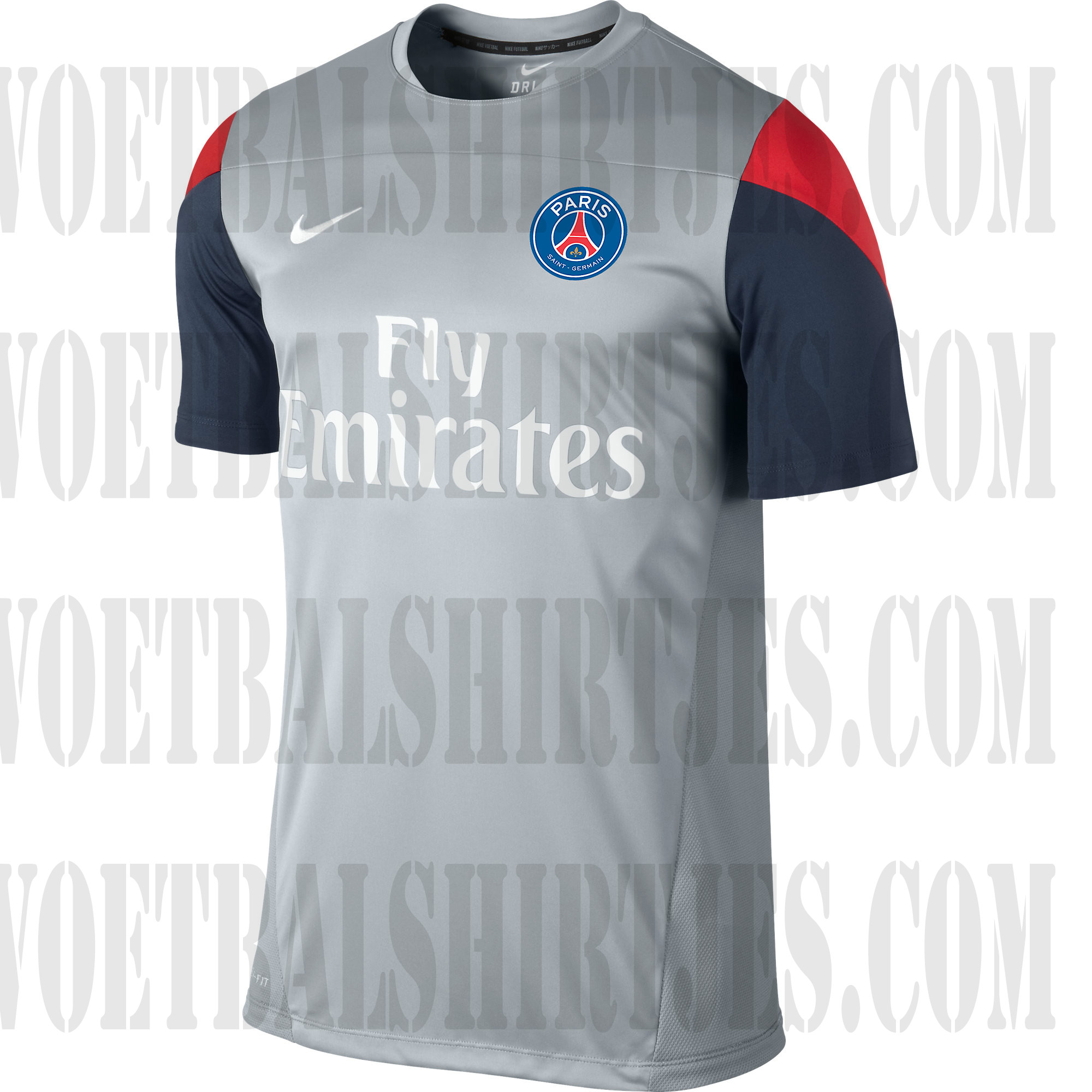 PSG trainingsshirt_2013_2014