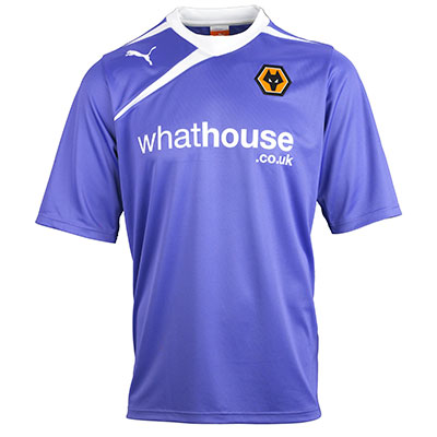 Wolverhampton Wanderers away kit 13 14
