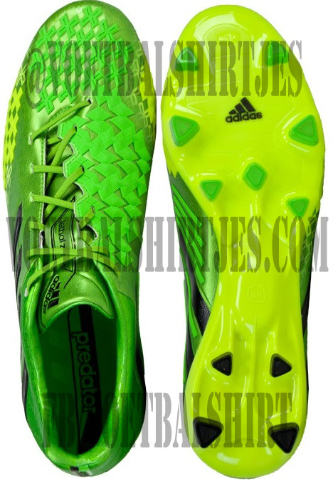 adidas Predator LZ TRX FG Ray Green with Black 2013