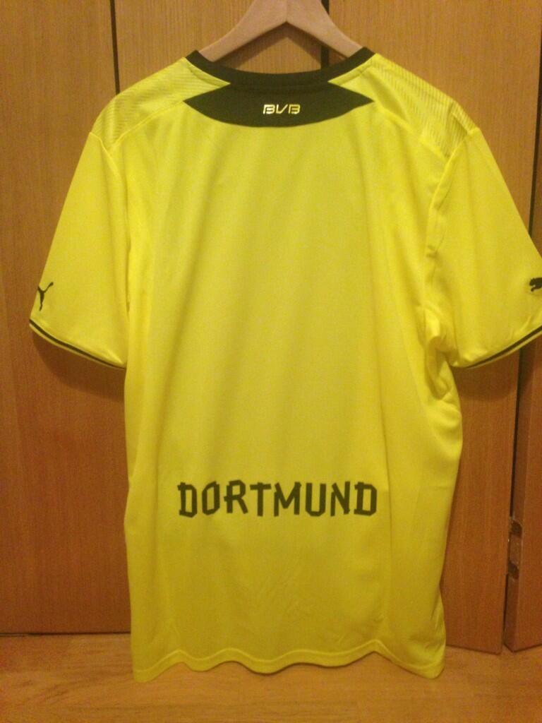 Borussia Dortmund thuisshirt 2013/2014