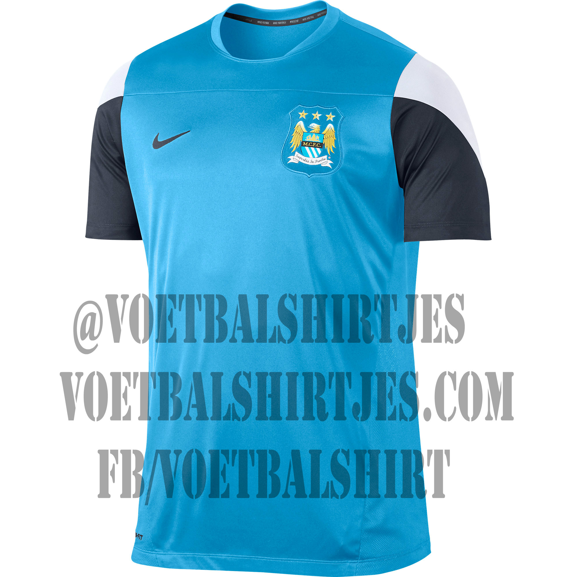 Man. City training top nike
