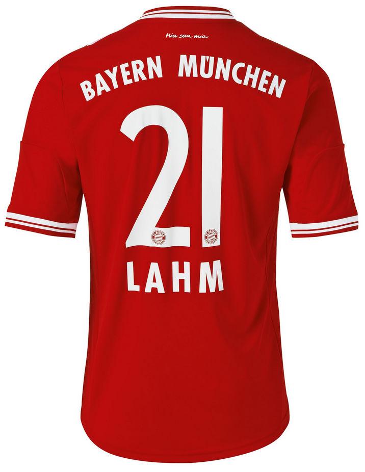 Bayern Munchen shirt 2014 Lahm