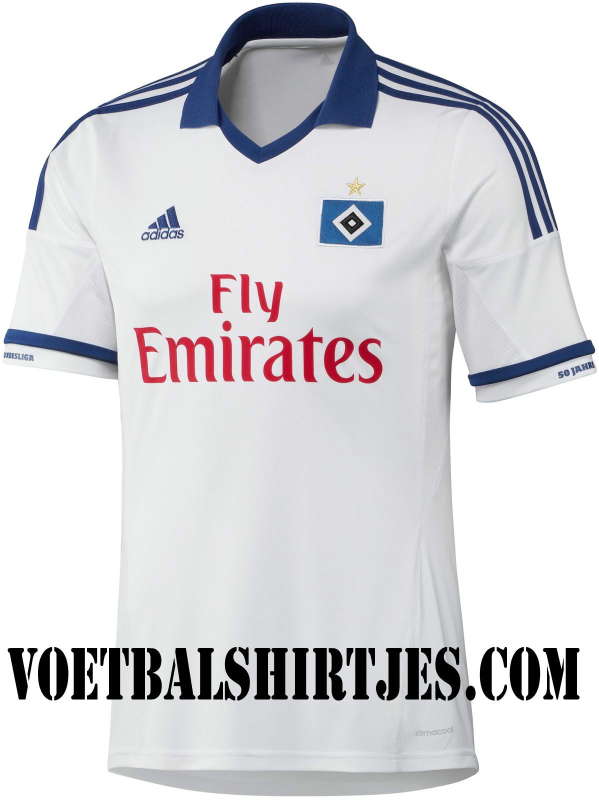 HSV shirt 2014 Hamburger SV