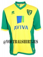 NORWICH CITY shirt 2014