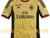AC Milan champions League shirt 2014
