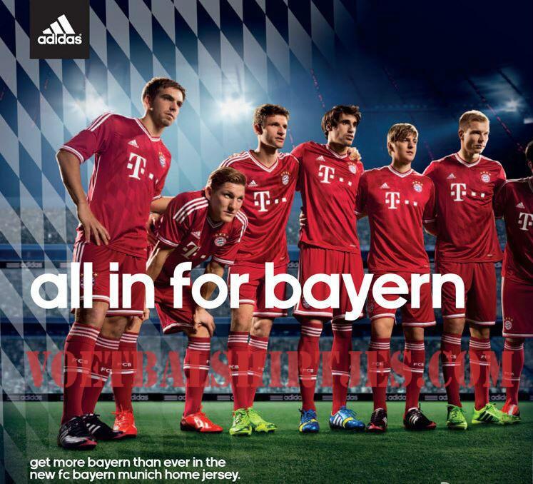 Bayern Munchen thuisshirt 2013/2014