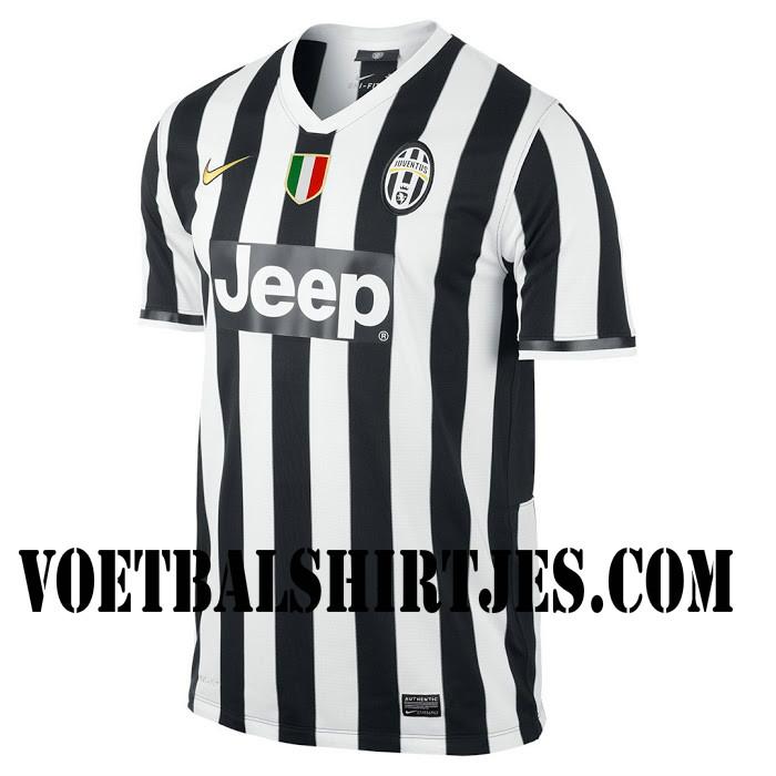 Juventus thuisshirt 2014