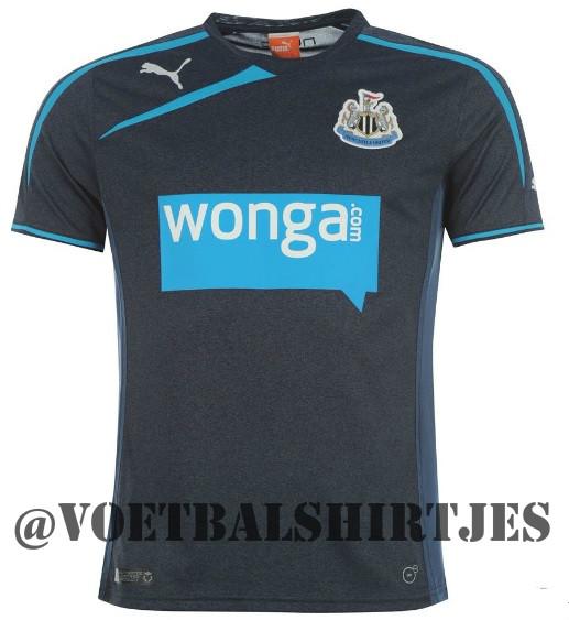 Newcastle United uitshirt 2014