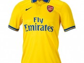 Arsenal away kit 13 14